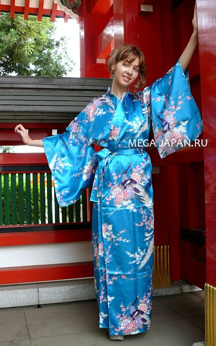 Халата кимоно видео